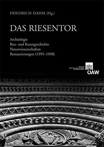 Das Riesentor: Archaologie Bau- und Kunstgeschichte Naturwissenschaften Restaurierung (1995-1998) (Der Wiener Stephansdom - Forschungen Und Materialien) (German Edition) by Austrian Academy of Sciences Press
