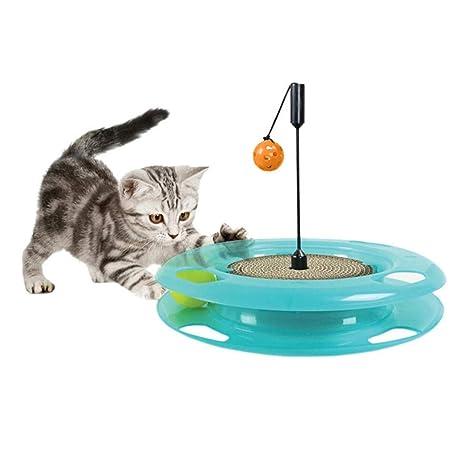 Tablero De Arañazos para Gatos, Juguete para Mascotas, Pelota De ...