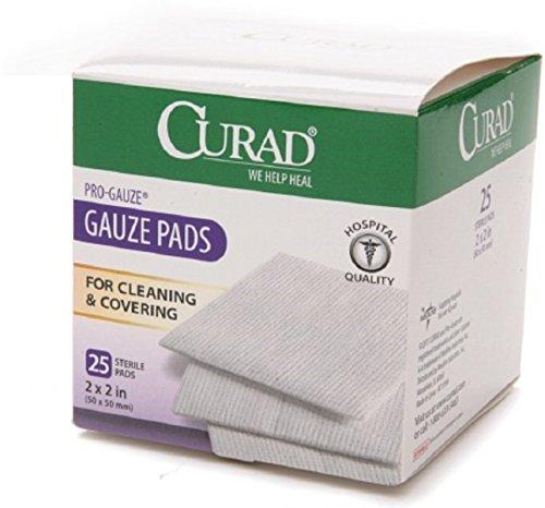 Curad Sterile Pro Gauze Pads 2