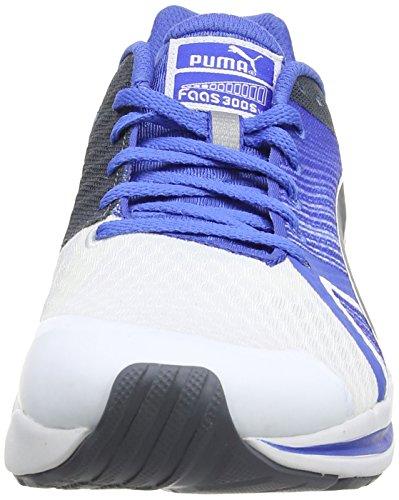 Puma Faas 300 S V2 Herren Laufschuhe Weiß (02 white-strong blue-turbulence)