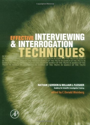 Download Effective Interviewing and Interrogation Techniques Pdf