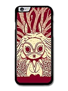Princess Mononoke Little Forest Creatures Red and White Illustration case for iPhone 6 Plus