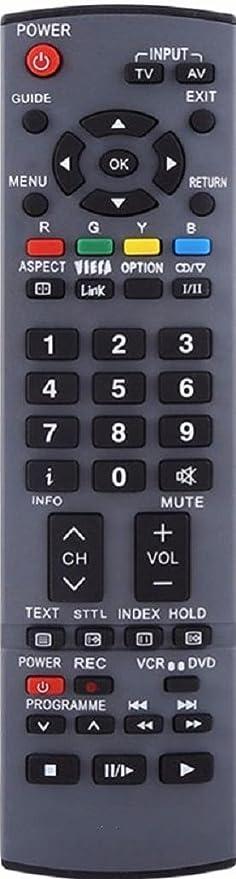 Mando a distancia de repuesto Vinabty EUR7651110 para televisores Panasonic TV TH-42PX60 TH-50PX60 TH-42PX60B: Amazon.es: Electrónica