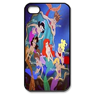 LSQDIY(R) Ariel Little Mermaid iPhone 4,4G,4S Personalized Case, Customised iPhone 4,4G,4S Case Ariel Little Mermaid