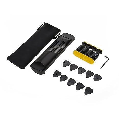 Amazon.com: Pocket Guitar 6 Fret, Portable Guitar Finger Exerciser ...
