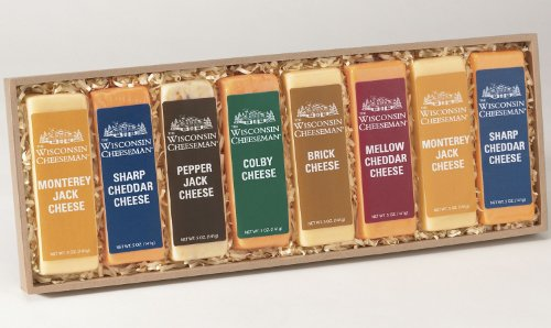 Cheese Bars Gift Assortment from Wisconsin Cheeseman