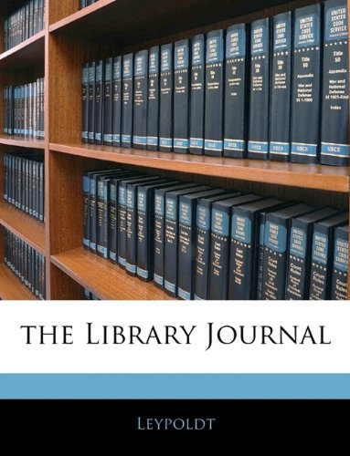 The Library Journal, Vol. 5 PDF