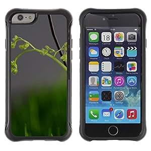 Pulsar Defender Series Tpu silicona Carcasa Funda Case para Apple iPhone 6(4.7 inches) , Nature Beautiful Forrest Green 82