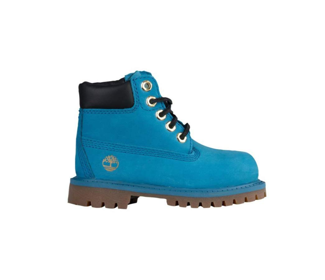 Timberlandd 6'' Prem Boot Blue, 5.5 (M) US Little Kid,