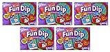 Wonka Fun Dip pcrqU Valentine Card & Candy Kit 24 Count (5 Pack)