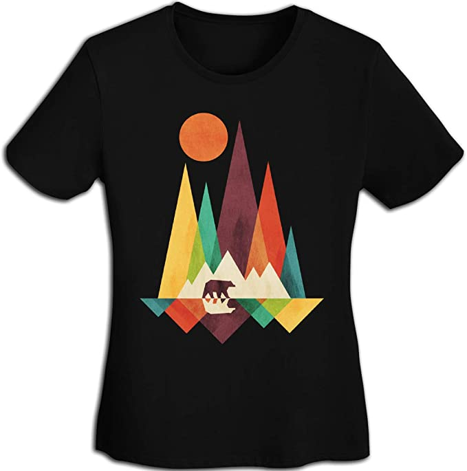 Teen Girls Printed Long Sleeves Black MiiyarHome Womens Long Sleeve T-Shirts Funny Tee