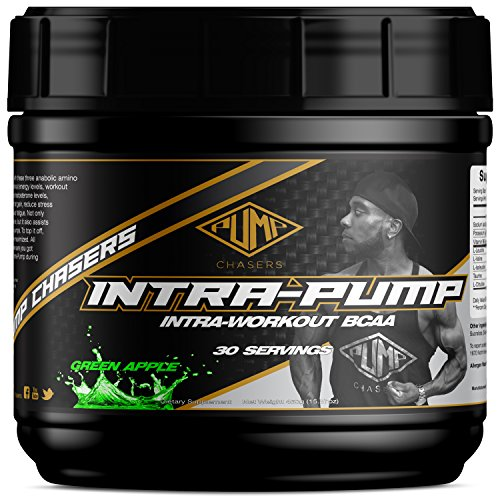 Pump Chasers Intrapump Green Apple - Intraworkout BCAA Supplement