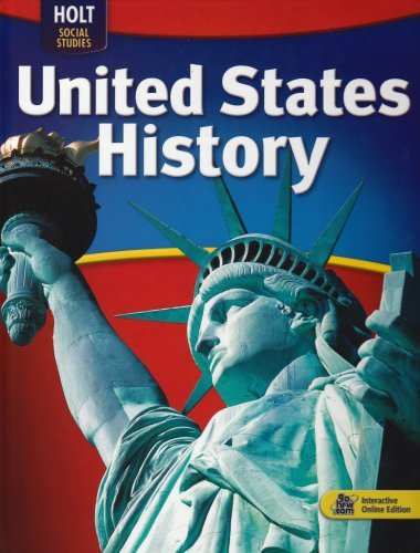 By William Deverell and Deborah G Holt McDougal United States History: Student Edition 2009 (1st Edition)