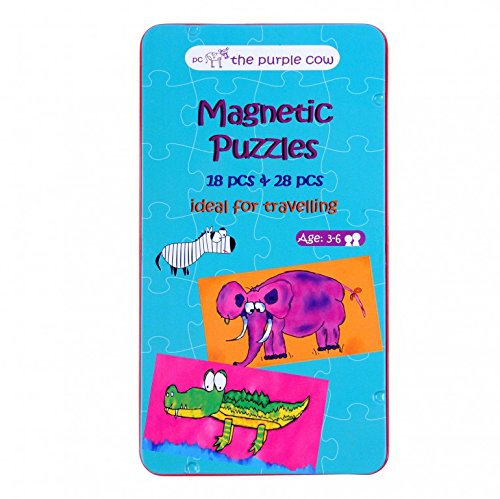 (The Purple Cow Magnetic Puzzles )