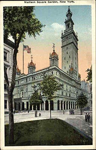 Madison Square Garden New YOrk, New York Original Vintage Postcard