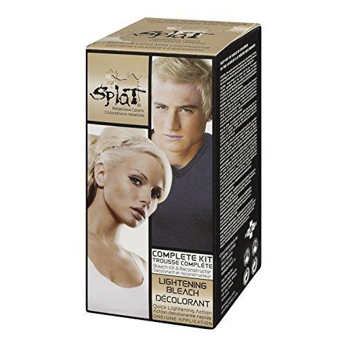splat bleach kit on dark hair