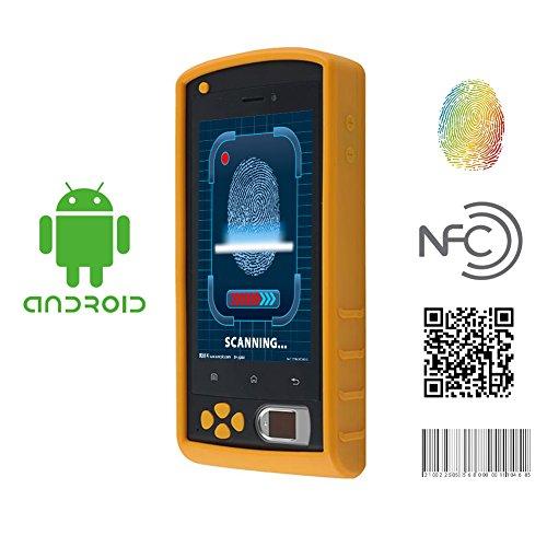 HFSECURITY Biometric Fingerprint Terminal Mobile Phone SMS Fingerprint Reader Barcode Scanner GPS Pos System Gasoline Station