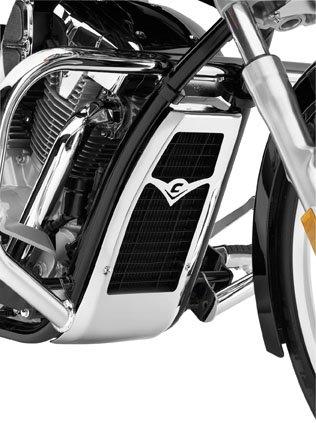 Cobra Radiator Cover for Honda 2010-13 VT1300CR/CS/CT