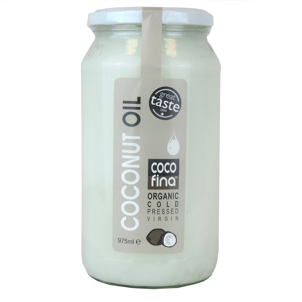 Cocofina - Coconut Oil - Organic Cold Pressed Virgin - 975ml (Case of 6)