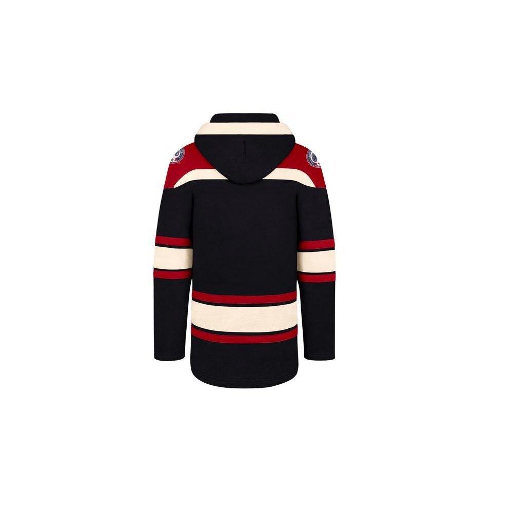 47 Brand Columbus Blue Jackets Lacer Jersey Hoodie NHL Sweatshirt c0e120ca6