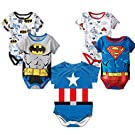 Stylesilove Super Heroes Baby Boy Costume Jumsuit