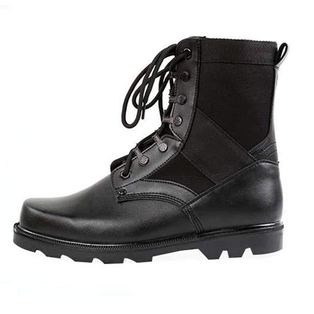 Uirend Botas Servicio Militar Calzado Trabajo Zapatos Hombre - Botines Desert Militares Uso General Táctico Negro: Amazon.es: Zapatos y complementos