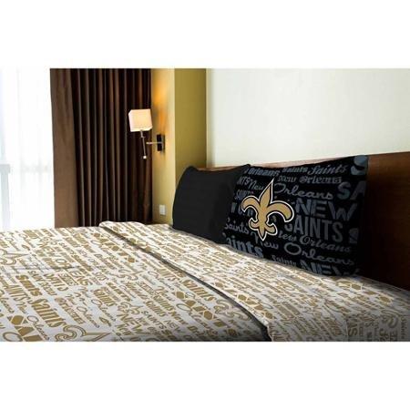 - NFL Anthem New Orleans Saints Bedding Sheet Set: Twin