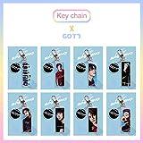 gerFogoo Kpop GOT7 Key Chain Keyring BLAKCPINK