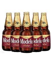 Cerveza Ámbar, Modelo Ámbar, 12 botellas de 355 ml c/u