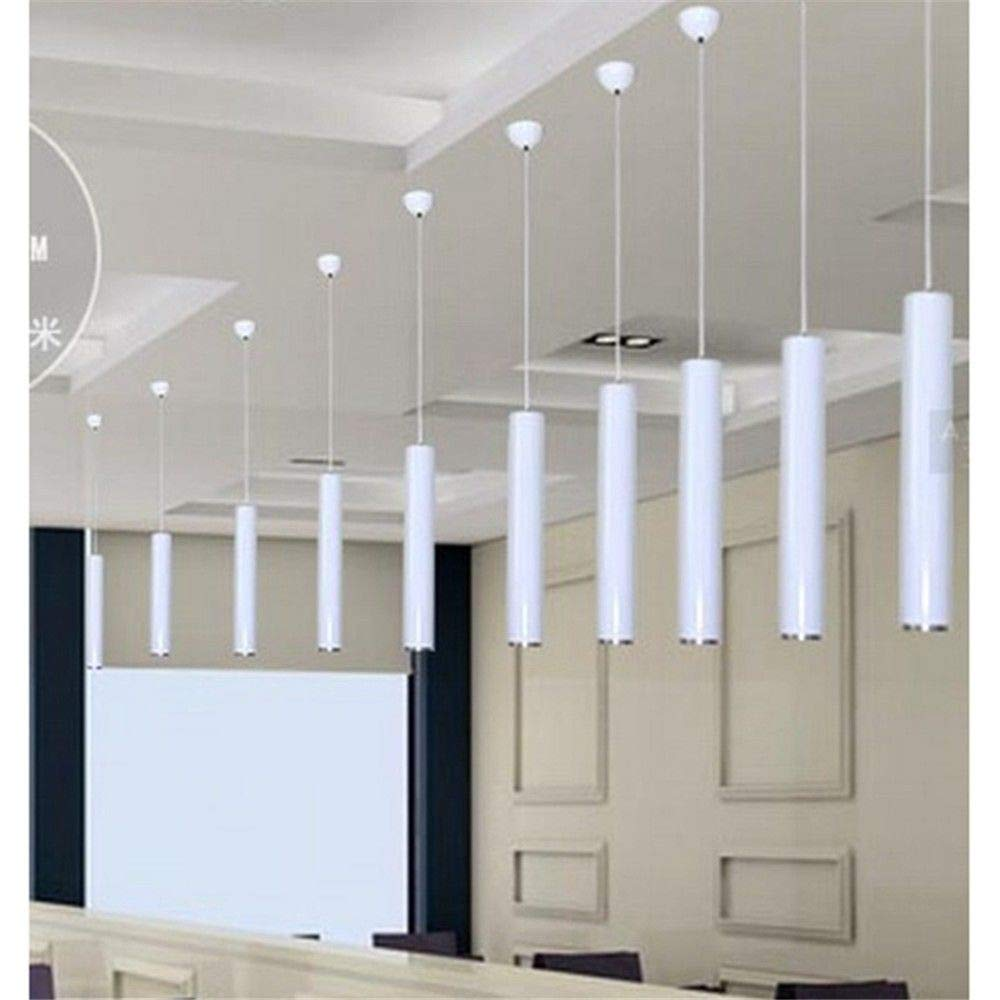 U-Enjoy Kronleuchter Pendant Lamp Room Island Bar Counter Decoration Lights Kitchen Shop Dining Kostenloser Versand [100  8CM & Sliver]