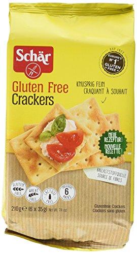 Crackers rechteckig, glutenfrei – 200 g