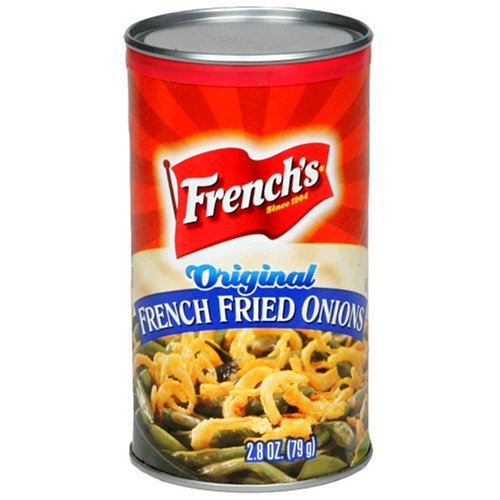 French's French Fried Onions, Original, 2.8-Ounce Cans (Pack of 8) by French's