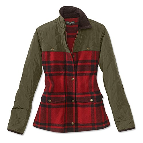 Orvis Quilted Jacket - Orvis Women's Sunderland Wool Quilted Jacket, X Large