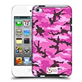 Official Support British Soldiers Pink Camo Hard Back Case for iPod Touch 5th Gen / 6th Gen