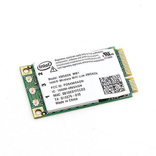 Intel Wireless Wifi N Card 4965agn Mm2 for Dell Latitude D620 D630 D820 D830