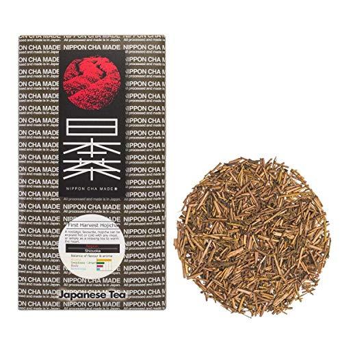 Nippon Cha - Shizuoka Hojicha - Premium Hojicha Tea - Roasted Japanese Green Tea - High Antioxidants - Delicious Hot or Cold - Finest Loose Tea - 30g ()