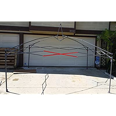 Coleman 12x12 Instant Sun Shelter Canopy -MIDDLE Truss Bars 48 1/4