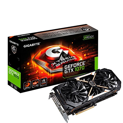 Gigabyte GeForce GTX 1070 XTREME Gaming Video Card