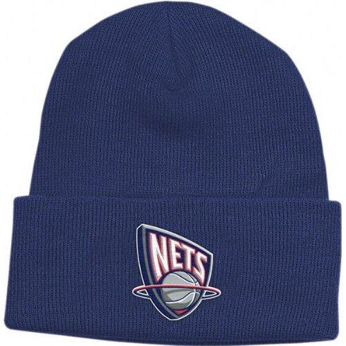 Acrylic Nets New Jersey (New Jersey Nets Navy Basic Logo Cuffed Knit Hat)