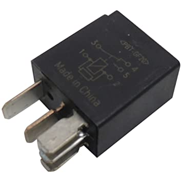 511pjCyiiAL._SY355_ amazon com new oem gm 5 pin relay 13500117 black 5 terminal multi,Antenna 5 Prong Relay Wiring