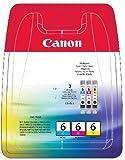 Canon Original Ink Multi-Pack BCI-6C, 6M, 6Y