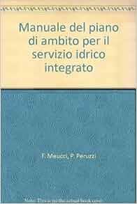 Manuale del piano di ambito per il servizio idrico integrato