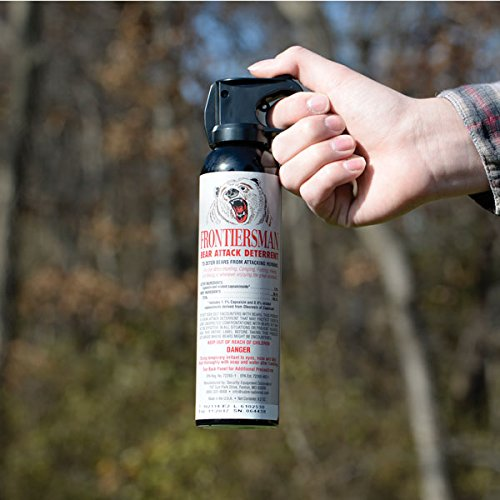 Using a Bear Spray