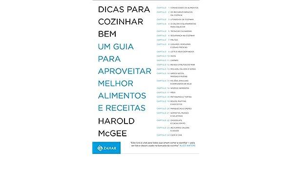Dicas Para Cozinhar Bem (Em Portugues do Brasil): Harold Mcgee: 9788537808122: Amazon.com: Books