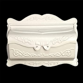 WangQ Buzón - Metal, pequeña caja de buzón a prueba de moho a ...