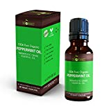 organic mint oil - Best Peppermint Essential Oil By Sky Organics-100% Organic, Pure Therapeutic Grade Peppermint Oil-For Diffusers, Aromatherapy, Massage, Allergies, Headaches -Aroma Scented Oil For Candles & Bath 1oz