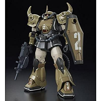 BANDAI HG 1/144 YMS-07A-0 Prototype Gouf (Mobile Demonstration Unit Sand Color Ver.): Toys & Games