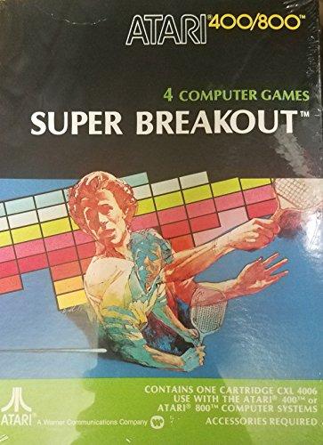Super Breakout - Atari 400/800 (NTSC) CXL 4006
