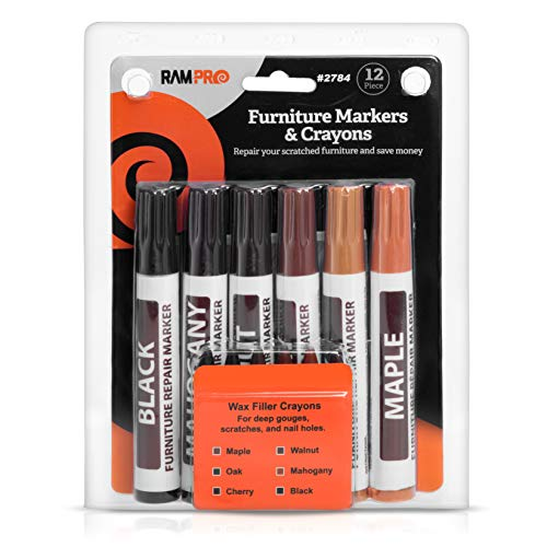 Ram-Pro Furniture Markers Touch Up Repair System - 12Pc ...
