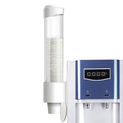 frjjthchy Fuentes de agua potable automática dispensador de vasos, viscosa placa de tornillo montaje en